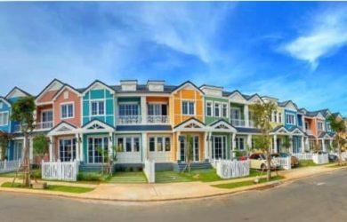 Nhà phố phong cách Florida tại Nova Phan Thiết